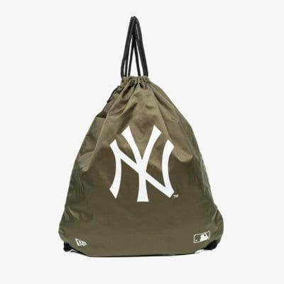 New Era Vak Mlb Gym Sack Nyy Khaki New York Yankees Nov Khaki EUR ONE SIZE