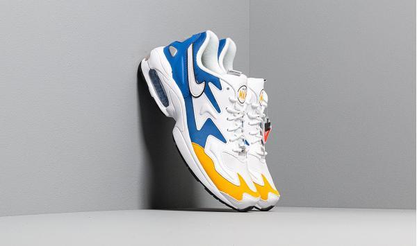 Nike Air Max 2 Light Premium White/ White-University Gold-Game Royal