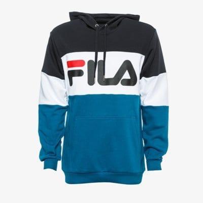 Fila Night Blocked Hoody Modrá EUR L