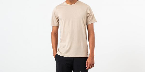 Asics x Reigning Champ Graphic Tee Feather Grey Heather
