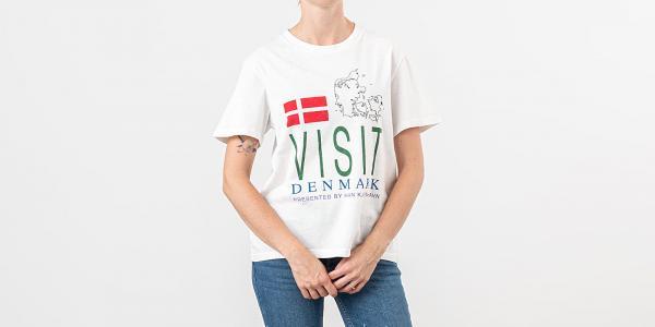 Han Kjøbenhavn Artwork Tee Off White