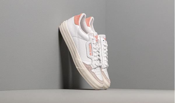 adidas Continental Vulc Ftw White/ Ftw White/ Glow Pink