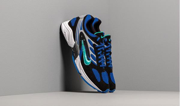 Nike Air Ghost Racer Black/ Hyper Jade-Racer Blue-Wolf Grey