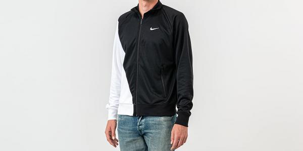 Nike Sportswear Swoosh Jacket Black/ White/ White
