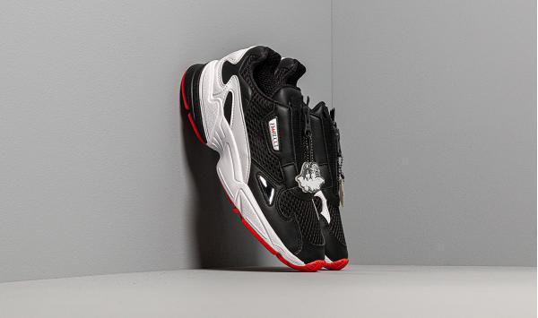 adidas by Fiorucci Falcon Zip W Core Black/ Ftw White/ Red