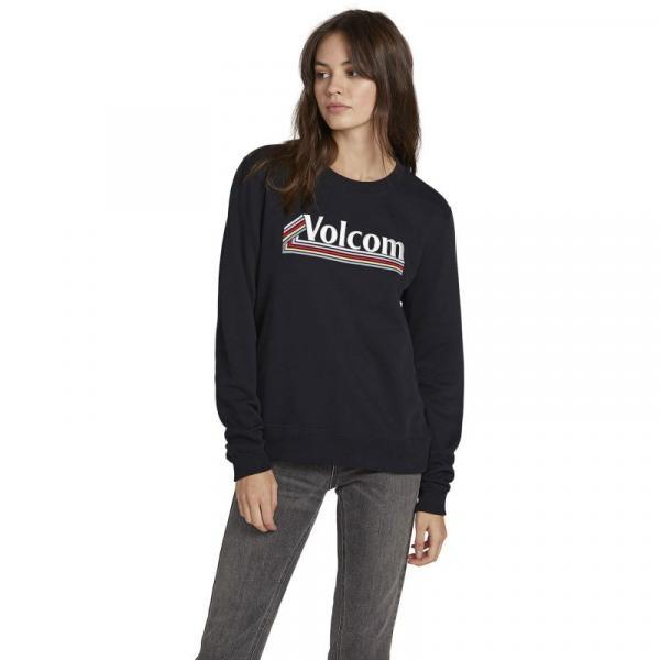 MIKINA VOLCOM Sound Check Fleece WMS - černá