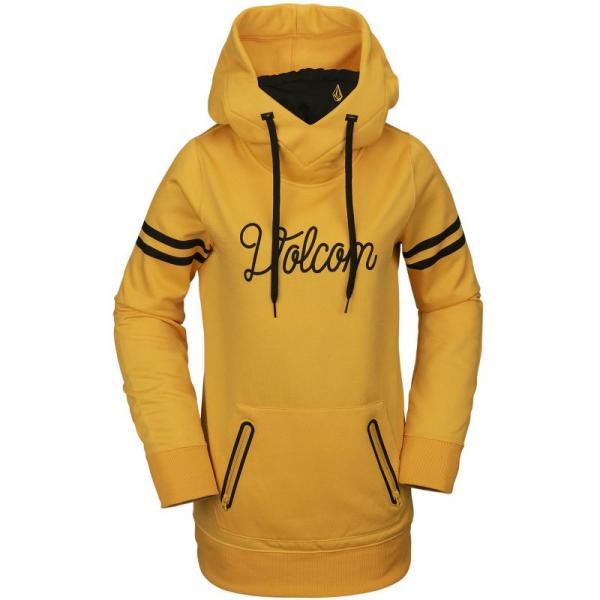 MIKINA VOLCOM Spring Shred Hoody WMS - žlutá