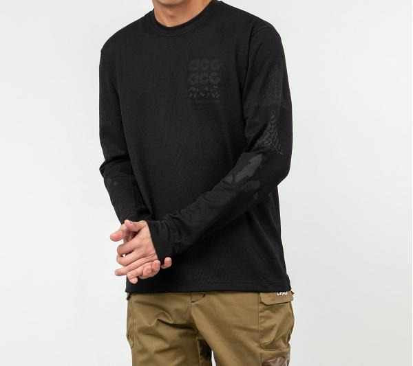 Nike ACG GX Waffle Long Sleeve Tee Black