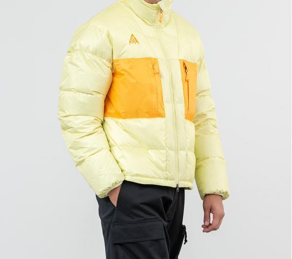 Nike ACG Down Fill Jacket Luminous Green/ Gold