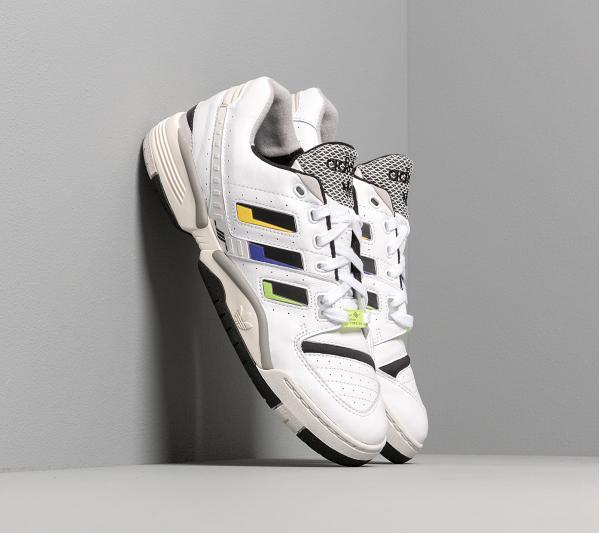 adidas Torsion Comp Ftw White/ Core Black/ Solar Yellow