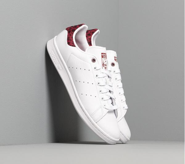 adidas Stan Smith W Ftw White/ Core Burgundy/ Core Black