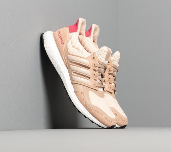 adidas UltraBOOST S&L W Ecru Tint/ St Pale Nude/ Real Pink