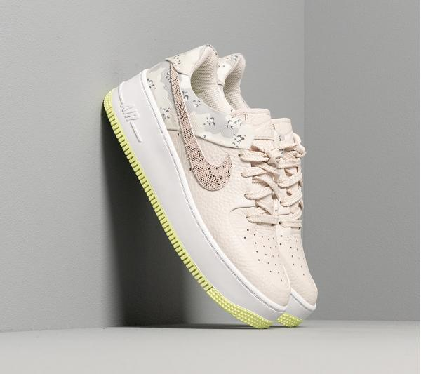 Nike W Air Force 1 Sage Lo Premium Light Orewood Brown/ Moon Particle-White
