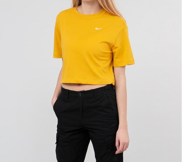 Nike Sportswear Essential Top Dark Sulfur/ White