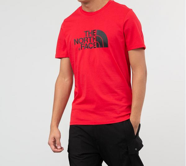 The North Face Easy Tee Red/ Black