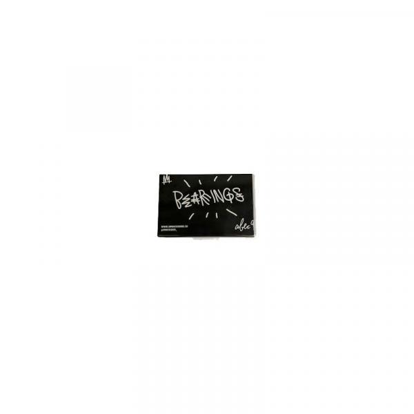 SK8 LOŽISKA AMBASSADORS ABEC 9 CHROME - černá