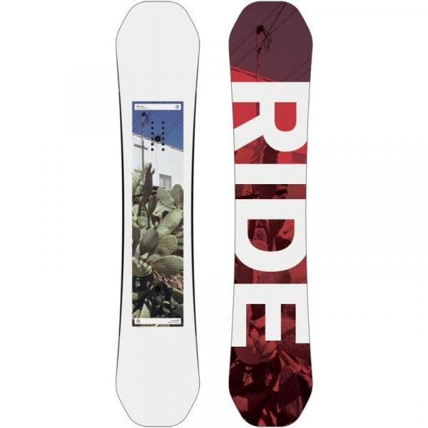 SNOWBOARD RIDE KINK WIDE - bílá