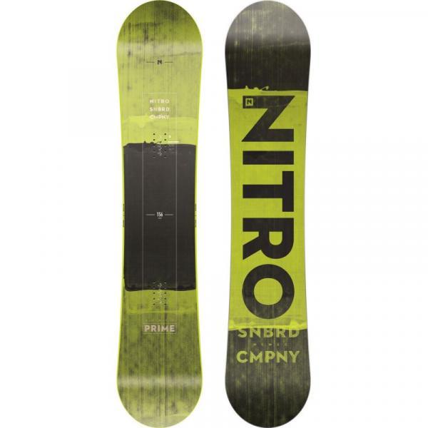 SNOWBOARD NITRO PRIME WIDE SCREEN 20 - zelená