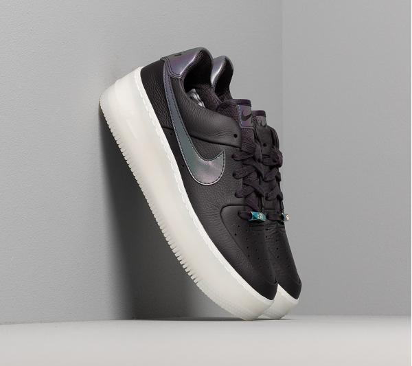 Nike W Air Force 1 Sage Low LX Oil Grey/ Blank-White