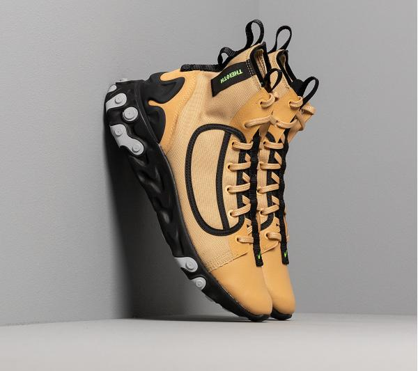 Nike React Ianga Club Gold/ Electric Green-Black-Wolf Grey