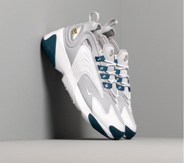 Nike Wmns Zoom 2K Wolf Grey/ Mtlc Platinum-Blue Force-White