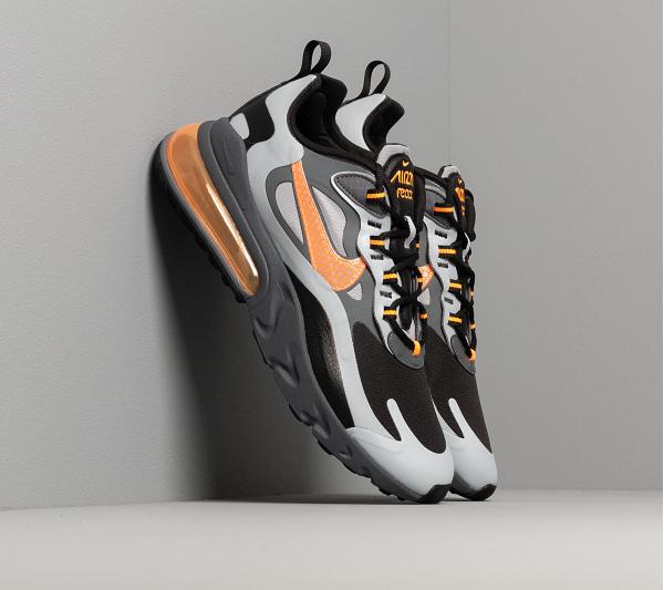 Nike Air Max 270 React Winter Wolf Grey/ Total Orange-Black-Dark Grey