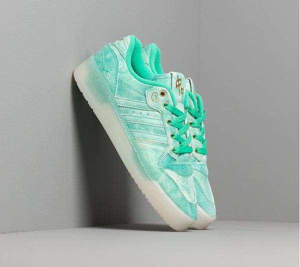 adidas Rivalry Low Hi-Res Green S18/ Ftwr White/ Gold Foil