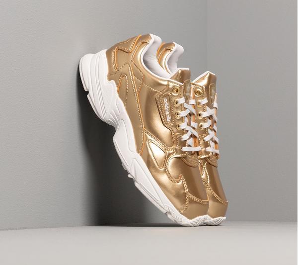 adidas Falcon W Gold Metalic/ Gold Metalic/ Crystal White