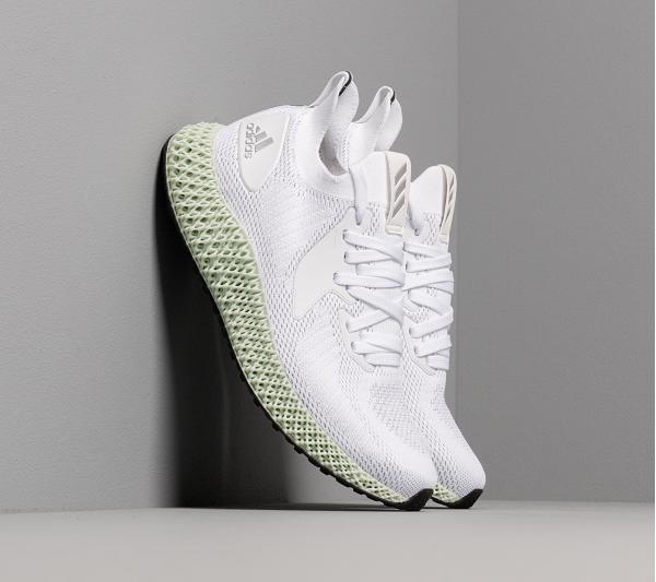 adidas alphaedge 4D Ftwr White/ Silver Metalic/ Core Black
