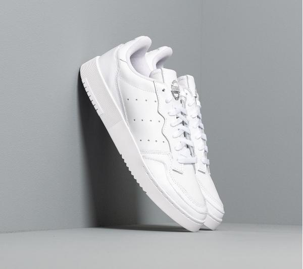 adidas Supercourt Ftw White/ Ftw White/ Core Black