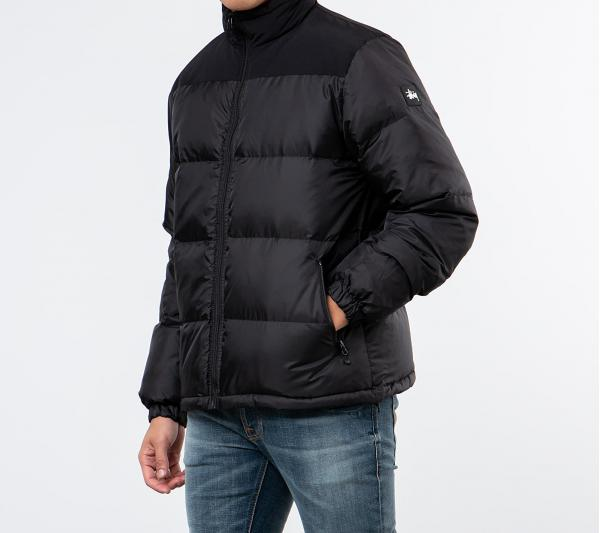 Stüssy Puffer Jacket Black
