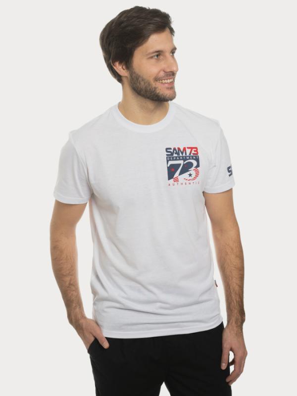 Tričko SAM 73 MT 749 Bílá