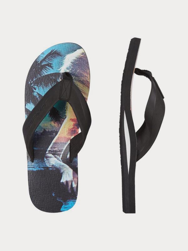 Žabky O´Neill Fm Imprint Pattern Sandals Barevná