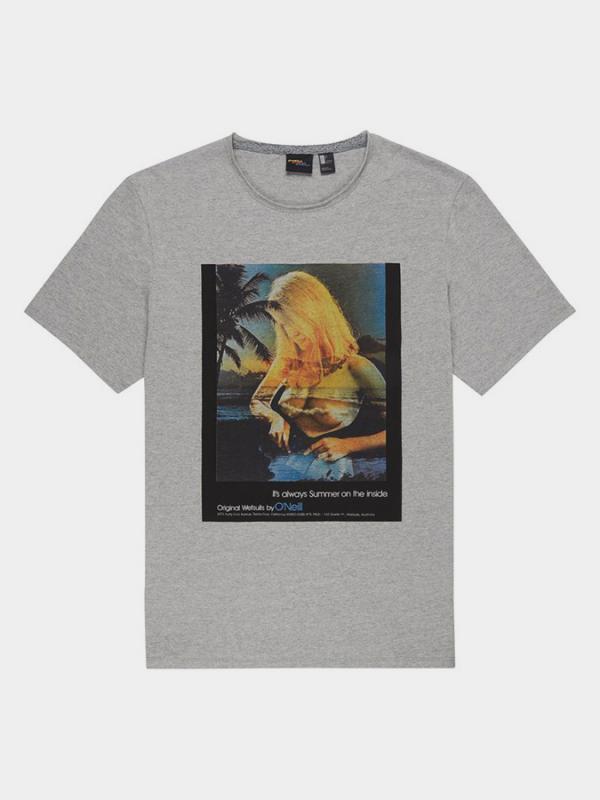 Tričko O´Neill Lm Always Summer T-Shirt Šedá