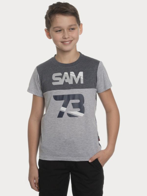 Tričko SAM 73 BT 525 Šedá