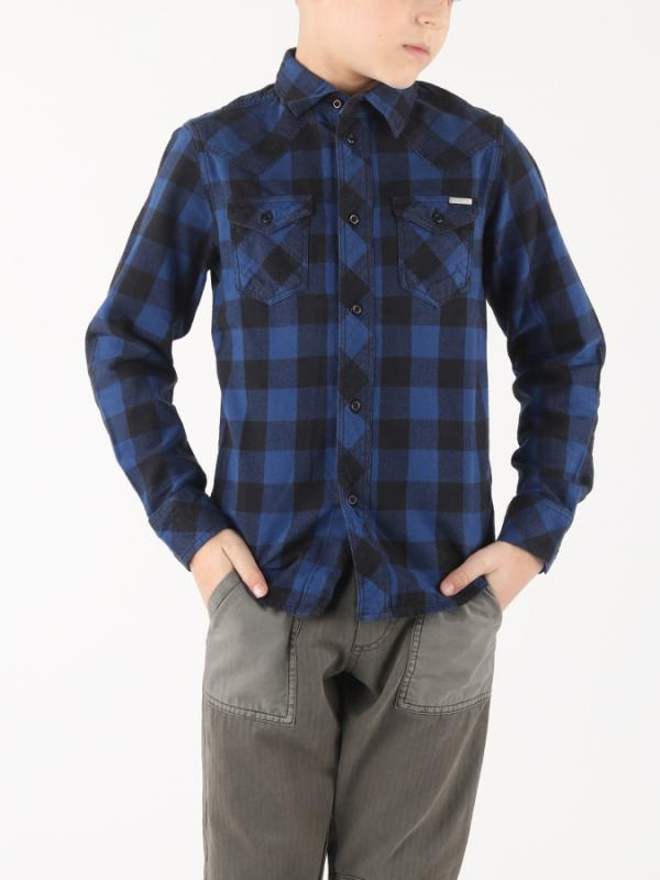 Košile Diesel Cornel Camicia Modrá