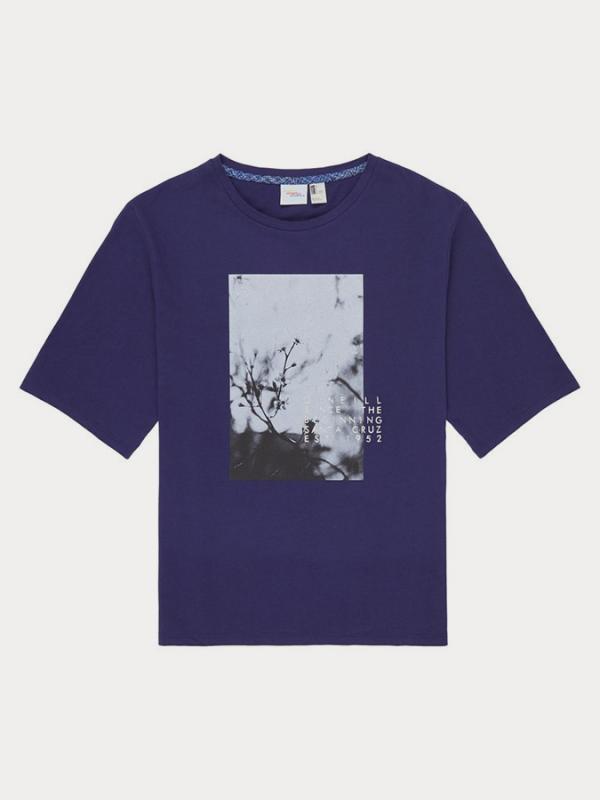 Tričko O´Neill Lw Felines Of T-Shirt Fialová