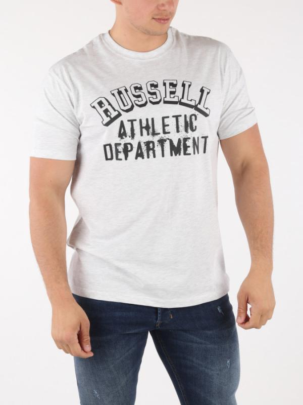 Tričko Russell Athletic RA S/S Crew Tee Šedá