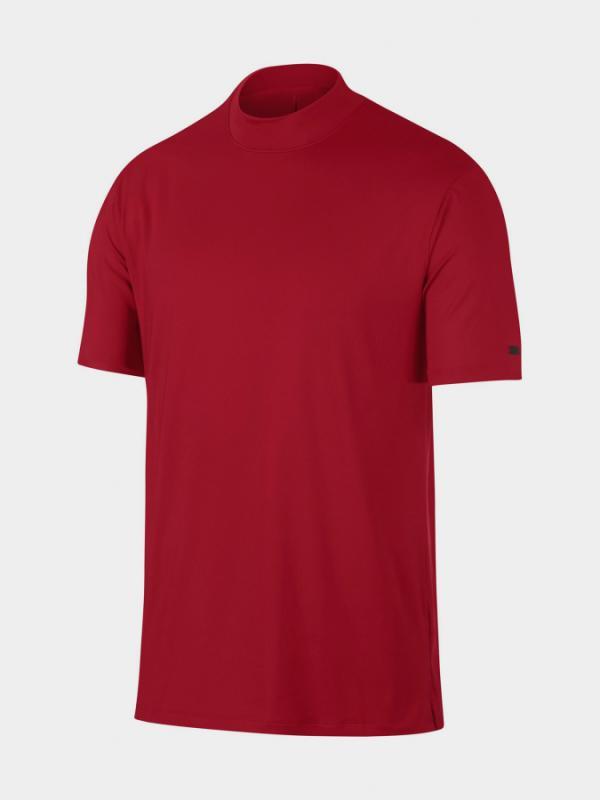 Tričko Nike Tw M Nk Dry Vapor Polo Mock Červená
