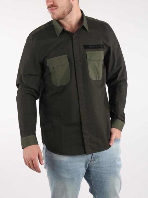 Košile Oakley Hybrid Utility Shirt LS Černá