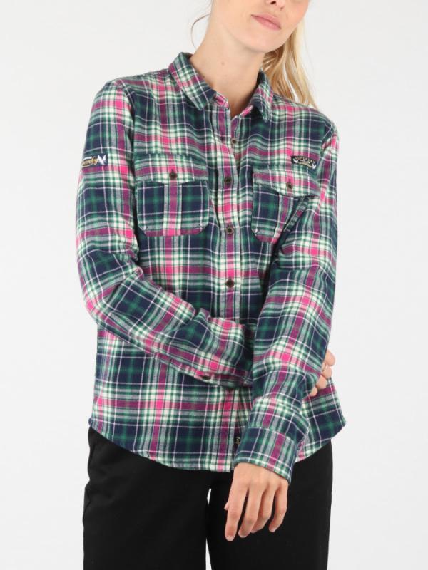 Košile Superdry Imogen Lumberjack Check Shirt Barevná
