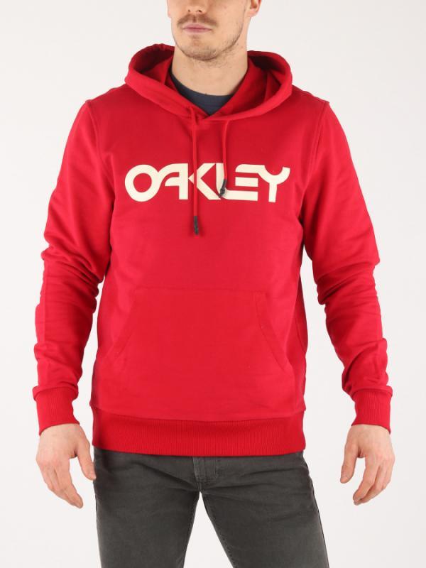Mikina Oakley B1B Po Hoodie Samba Red Červená