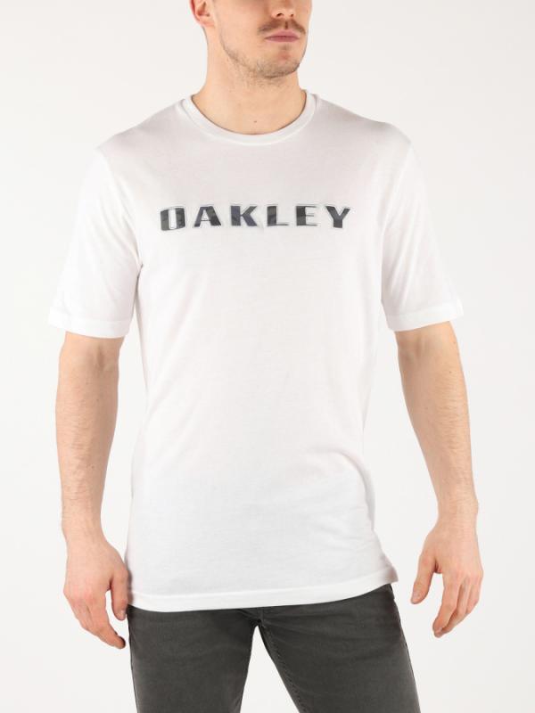 Tričko Oakley Camo Logo Tee White Bílá