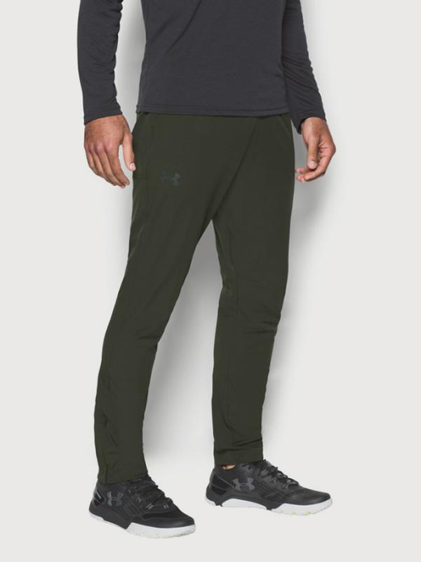 Tepláky Under Armour WG Woven Training Pant Zelená