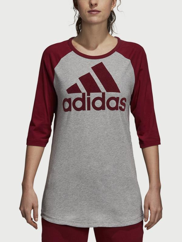 Tričko adidas Performance W Sid T-Shirt Šedá