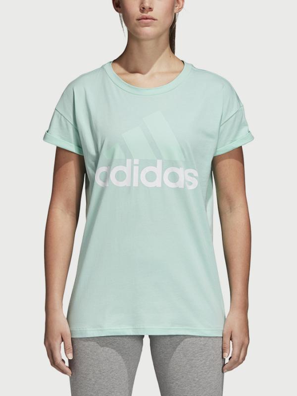 Tričko adidas Performance Ess Lin Lo Tee Zelená