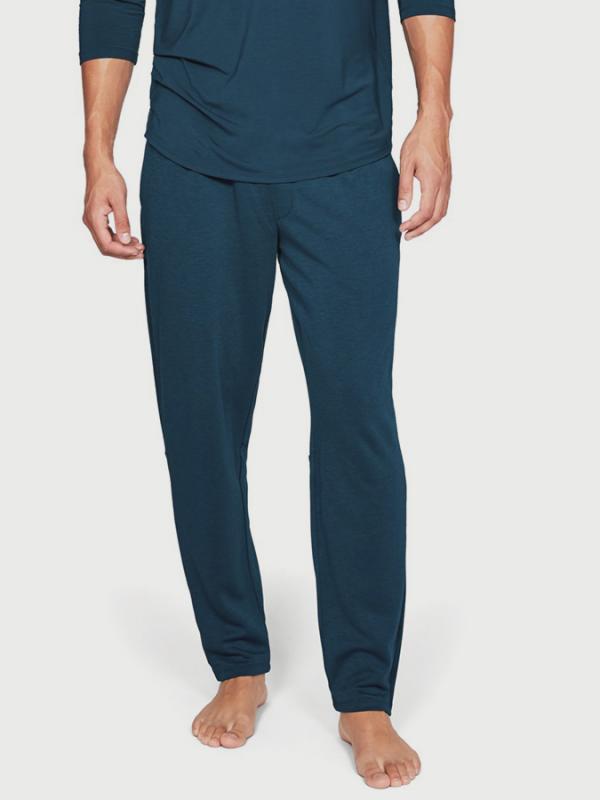 Tepláky Under Armour Recovery Sleepwear Elite HVY WT Pant Modrá