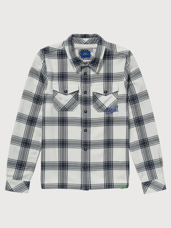 Košile O´Neill LB Violator Flannel Shirt Bílá
