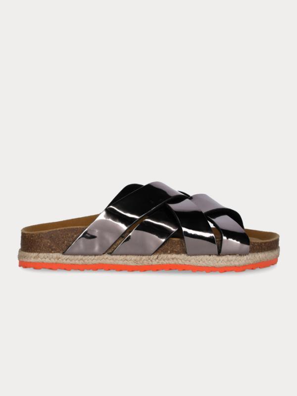 Pantofle Paez Sandal Cross Spark Grey Barevná