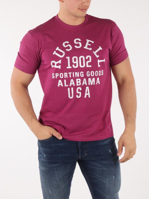 Tričko Russell Athletic RA S/S Crew Tee Červená
